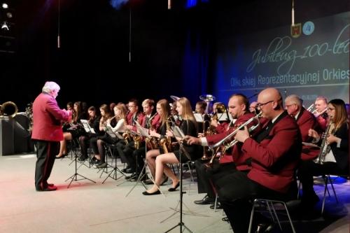 100-lecie Reprezentacyjnej Orkiestry z Olkusza